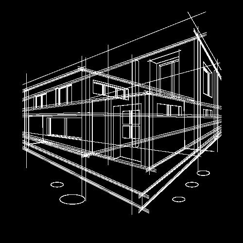 Nhà Sketch 3D